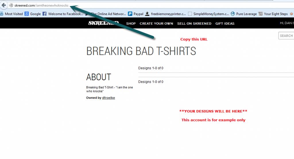 skreened t-shirt url