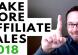 make more affiliate sales 2018
